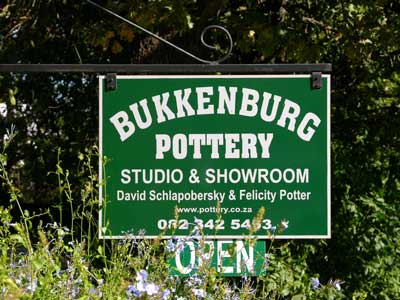 Pottery / Ceramics by David Schlapobersky & Felicity Potter, Bukkenburg Pottery Studio, Gallery & Guest Cottage - Home Page