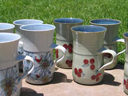 013 gallery, porcelain mugs