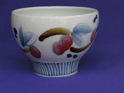 014 gallery, porcelain bowl 180mm diam