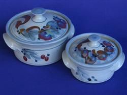 028 gallery, stoneware casseroles