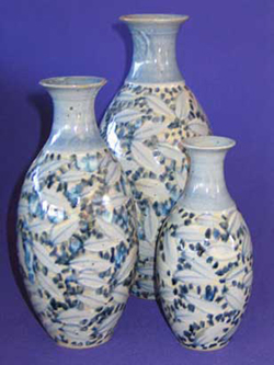 046 gallery, porcelain vases 160 to 290mm tall