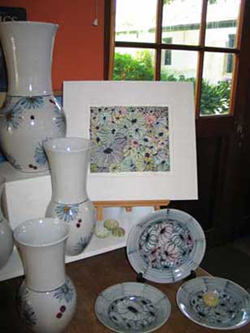 048 gallery, pots & painting