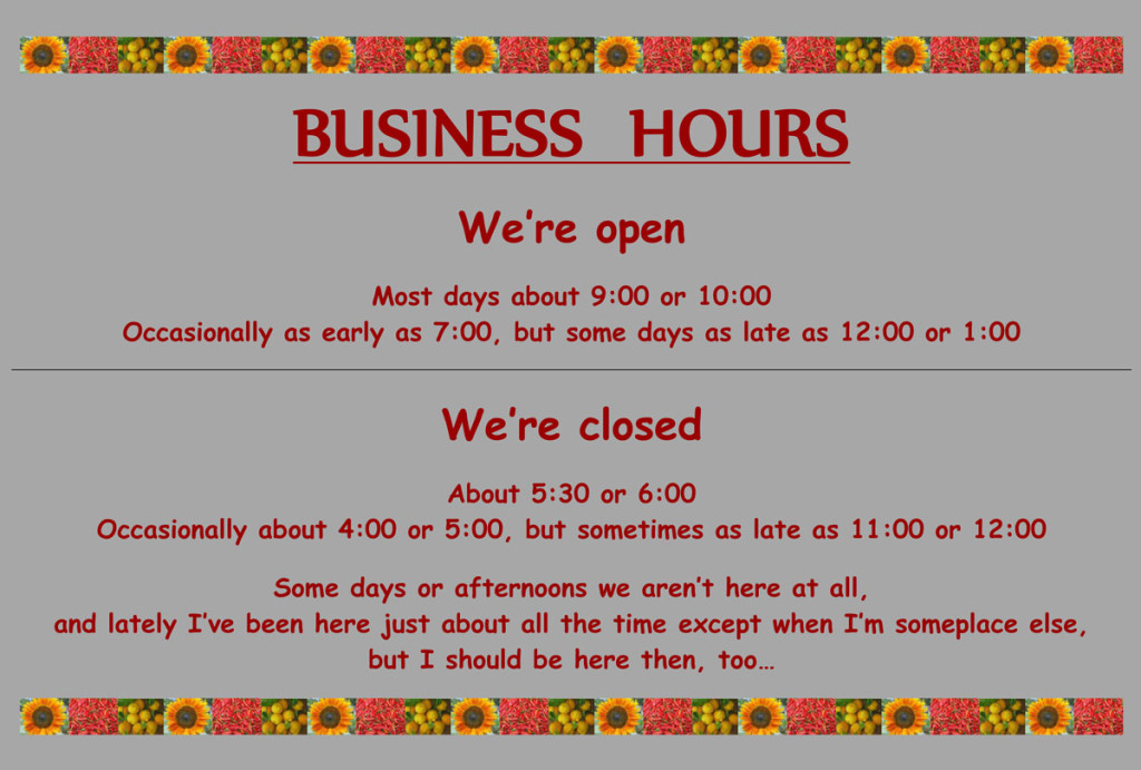 20160212, business hours, website