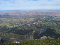swellendam & the overberg from top of 12 oclock peak