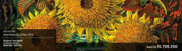 Valadimir Tretchikoff - sunflowers